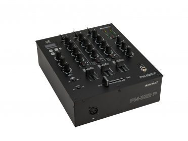 OMNITRONIC PM-322P 3-Channel DJ Mixer with Bluetooth & USB Player