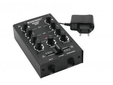 OMNITRONIC GNOME-202 Mini Mixer black