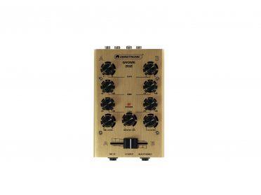 OMNITRONIC GNOME-202 Mini Mixer gold
