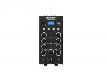 OMNITRONIC GNOME-202P Mini Mixer black