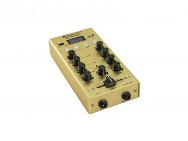 OMNITRONIC GNOME-202P Mini Mixer gold