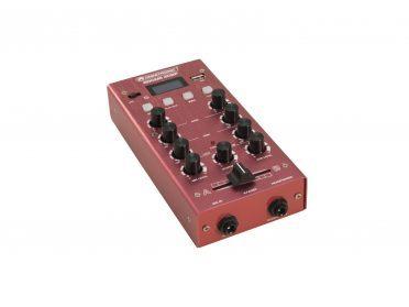 OMNITRONIC GNOME-202P Mini Mixer red