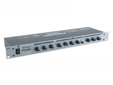 OMNITRONIC EM-260 Entertainment Mixer