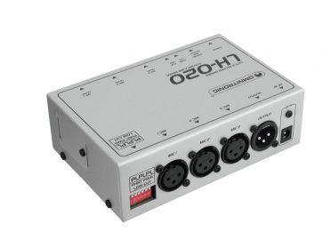 OMNITRONIC LH-020 3-Channel Mic Mixer