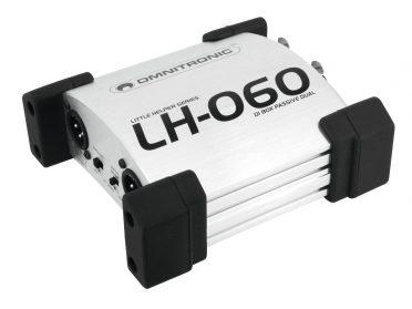 OMNITRONIC LH-060 PRO Passive Dual DI Box