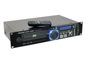OMNITRONIC XMP-1400 CD/MP3 player