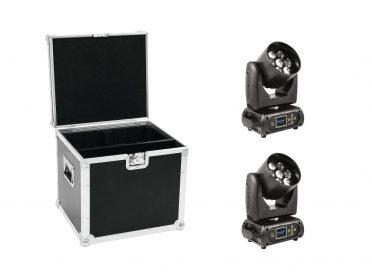 FUTURELIGHT Set 2x EYE-7 RGBW Zoom + Case