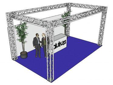 ALUTRUSS Truss set QUADLOCK 6082 rectangle 7x4x3.5m (WxDxH)
