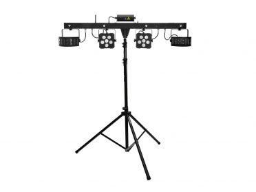 EUROLITE Set LED KLS Laser Bar PRO FX Light Set + M-4 Speaker-System Stand