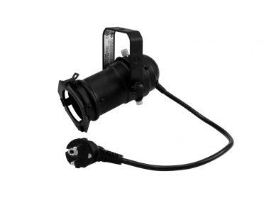 EUROLITE Set PAR-16 Spot GU-10 black + GU-10 230V LED SMD 7W 6400K