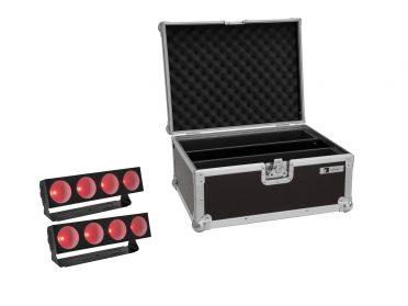 EUROLITE Set 2x LED CBB-4 COB RGB Bar + Case