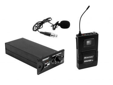 OMNITRONIC Set MOM-10BT4 Receiver module + Bodypack transmitter + Lavalier microphone