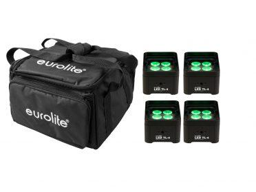 EUROLITE Set 4x LED TL-4 Trusslight + Softbag