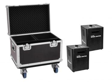 EUROLITE Set 2x Spark Master + Case PRO