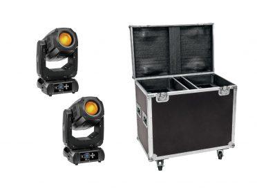 EUROLITE Set 2x LED TMH-S200 + Case