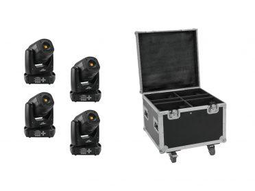 EUROLITE Set 4x LED TMH-S90 + Case