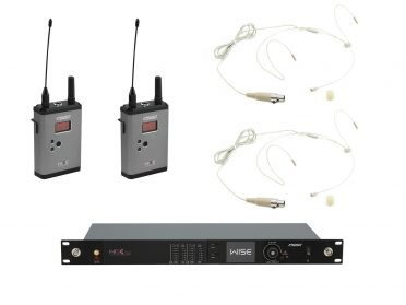 PSSO Set WISE TWO + 2x BP + 2x Headset 638-668MHz