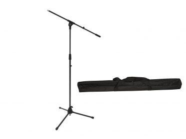 OMNITRONIC Set Microphone Tripod MS-2 with Boom bk + Bag