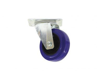 ROADINGER Swivel Castor 100mm blue shielded bearing
