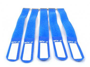 GAFER.PL Tie Straps 25x550mm 5 pieces blue