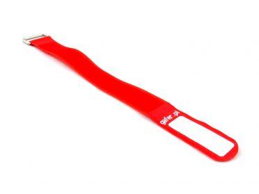 GAFER.PL Tie Straps 25x400mm 5 pieces red