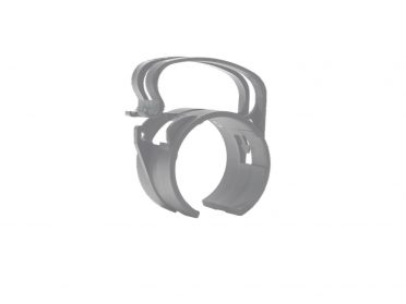 SNAP Mounting clamp light silver 4x