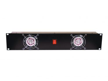 OMNITRONIC Front Panel Z-19 with 2 Fans wired 2U