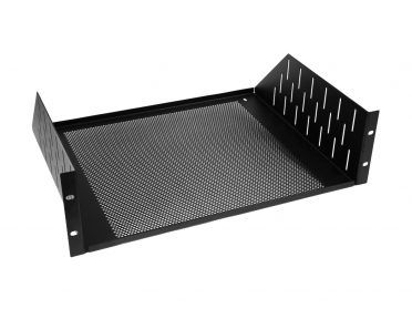 ACCESSORY Rackbase 3U with ventilation holes