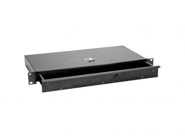 OMNITRONIC Rack Drawer KE-1 Rackdrawer with lock 1U