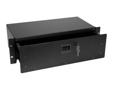 OMNITRONIC Rack Drawer SN-3 Rackdrawer with lock 3U