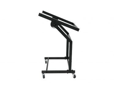 OMNITRONIC Rack Stand 12U/10U adjustable on Wheels