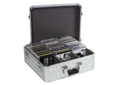ROADINGER CD Case ALU polished for 100 CDs