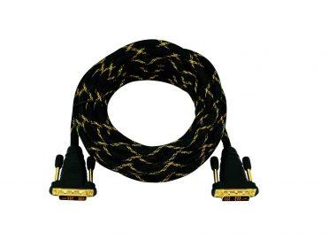 OMNITRONIC DVI cable 5m bk
