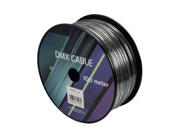 EUROLITE DMX cable 2x0.22 100m bk