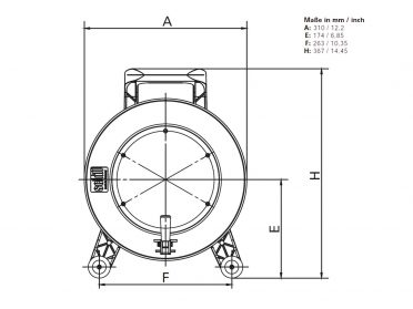 SCHILL Cable Drum GT 310.SO