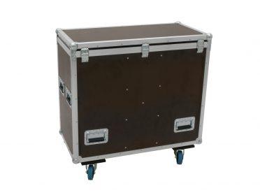 ROADINGER Flightcase 2x DMH-300 LED