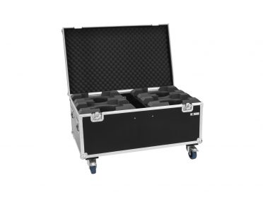 ROADINGER Flightcase 4x LED TMH-X7 Moving head
