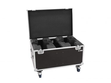 ROADINGER Flightcase 2x LED TMH-X19 Moving head