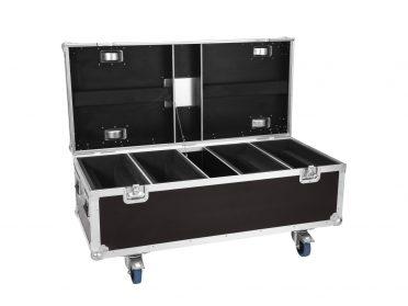 ROADINGER Flightcase 4x LED TMH-X Bar 5
