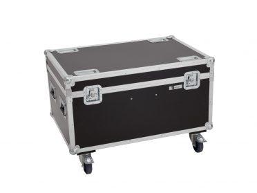 ROADINGER Flightcase 4x LED TMH-X4