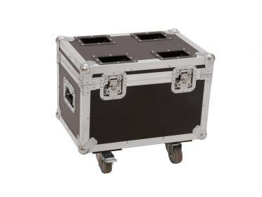ROADINGER Flightcase 4x LED TMH-13/17/S30/W36