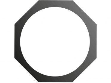 EUROLITE Filter frame PAR-46 Spot 8 edges bk