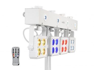 EUROLITE LED KLS-180 Compact Light Set wh