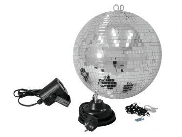 EUROLITE Mirror Ball Set 30cm with LED Spot