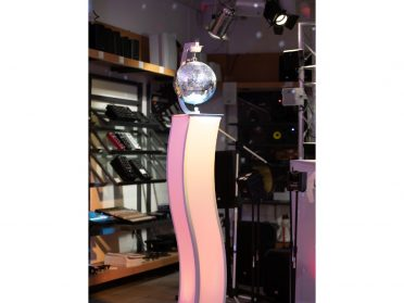 EUROLITE Stand Mount with Motor for Mirror balls up to 30cm wh
