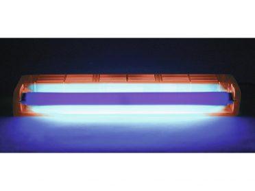EUROLITE UV tube complete fixture 45cm 15W ABS red