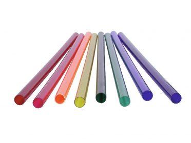 EUROLITE Red Color Filter 149cm for T8 neon tube