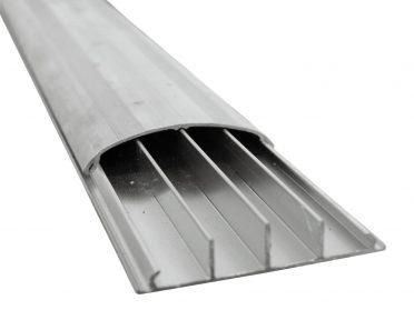 EUROLITE Floor Cable Channel 75mm silver 2m