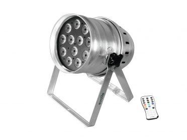 EUROLITE LED PAR-64 QCL 12x8W floor sil
