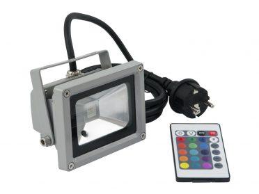 EUROLITE LED IP FL-10 COB RGB 120° RC